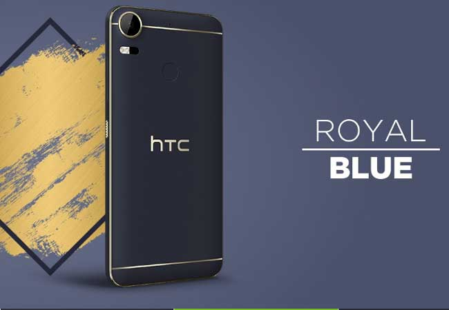 royal blue color on a mobile device