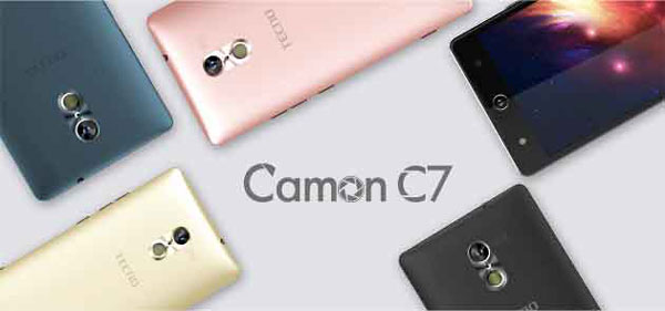Tecno Camon C7 specification and review