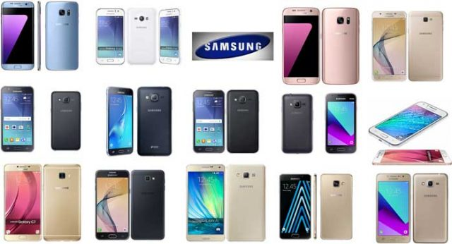 Samsung cell phone products