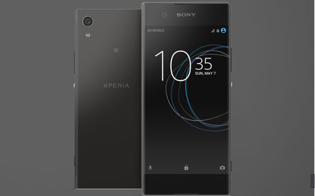 Xperia XA1 black in color smartphone price