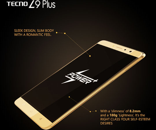 Tecno L9 Plus Specifications in Kenya