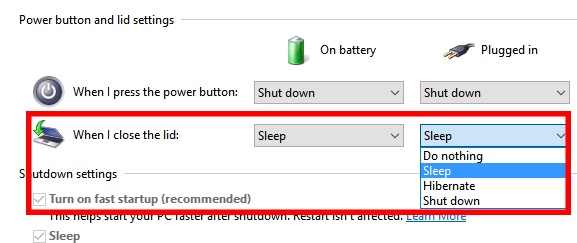 computer sleep mode compared to shut down and hibernate