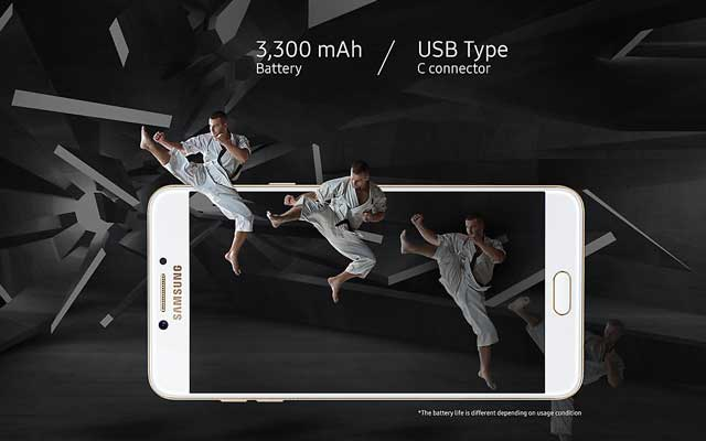Samsung Galaxy C7 Pro Display Specs