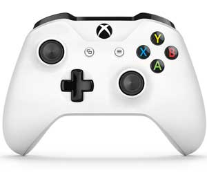 White XBox One controller design and button placement