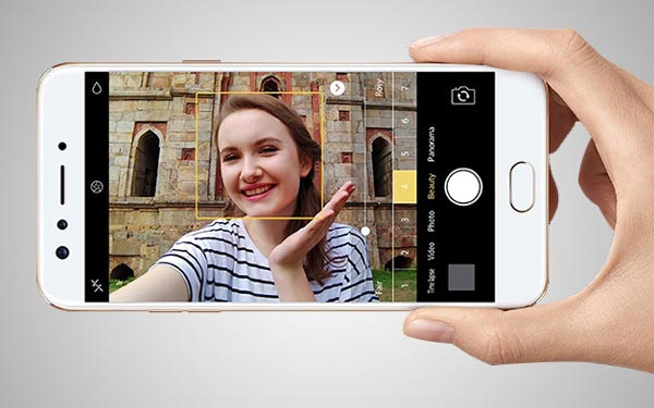 OPPO F3 Selfie Camera Specifications