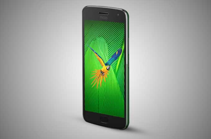 display quality of the moto g5 mobile phone