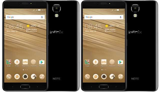 Infinix Note 4 Pro Vs Infinix Note 4 the differences