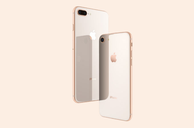 Rose Gold Apple iPhone 8