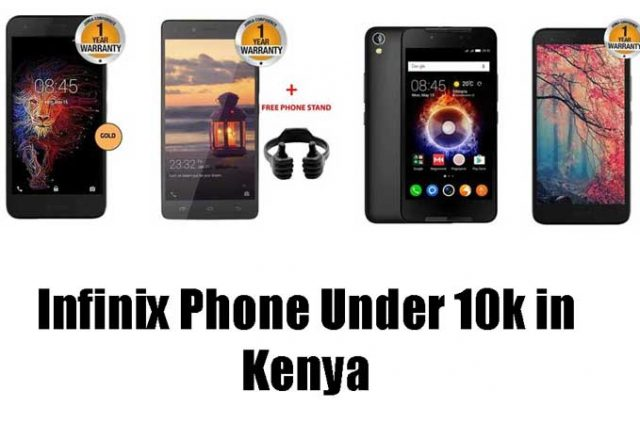 Best Infinix Phones Under 10k in Kenya