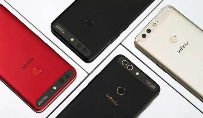 Colors of the Infinix Zero 5 Pro Mobile Phone