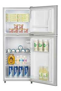 ICECOOL BCD 128 Fridge 128 Litres Silver