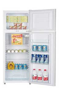 ICECOOL BCD 215 Fridge 215 Litres Silver