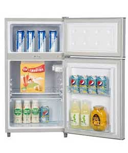 ICECOOL BCD 98 Fridge 98 Litres Silver