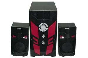 Price of the Ampex AX1072BT 2.1CH Subwoofer 9800W AC DC Black And Red Nairobi