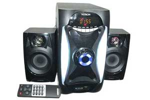 Ampex Bluetooth Super Bass Surround Woffer F-1031BT 2.1 Channel Speakers 8800W