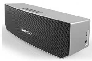 Bluedio BS3 Wireless Portable Bluetooth Home-Theater Party Speaker with 3D Stereo Sound Silver
