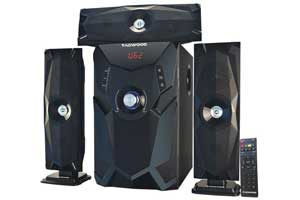 TAGWOOD MP 3348 Multimedia 3.1 Subwoofer With Bluetooth Black