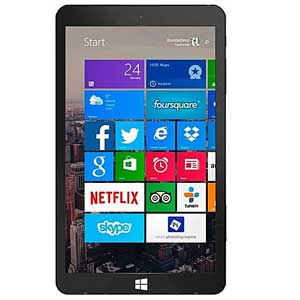 EVE T1 Tablet 8 32GB ROM 2GB RAM 5MP Camera Windows 8.1 WiFi Black