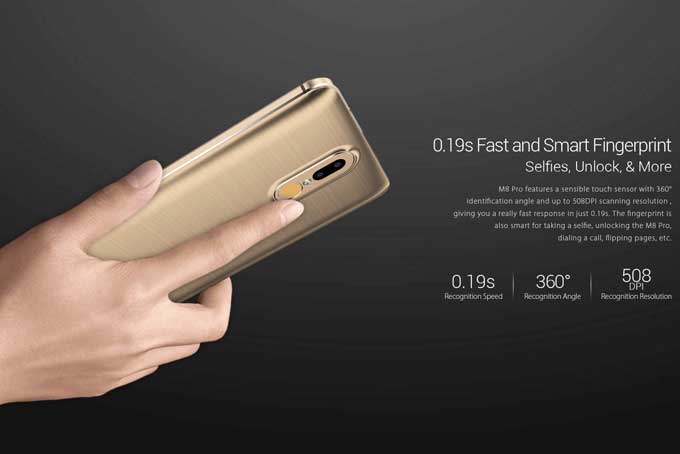 Leagoo M8 Pro Smartphone Features