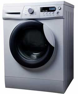 RAMTONS RW 128 Front Load Washer with Dryer White