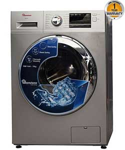 RAMTONS RW 144 Front Load Fully Automatic 7Kg Washer 1400 RPM Silver
