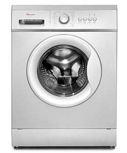 RAMTONS RW 145 Front Load Fully Automatic 6Kg Washer 1200 RPM Silver