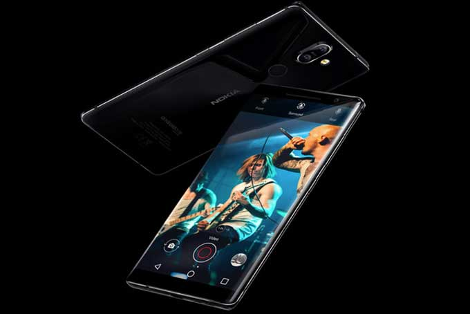 Nokia 8 Sirocco Mobile Phone Review