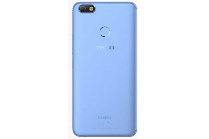 Back Side of Tecno Camon X Smartphone