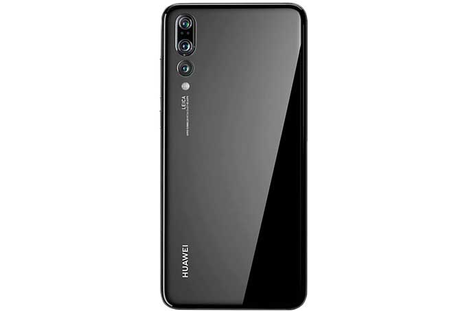 Huawei P20 Pro Mobile Back Design and Camera Position