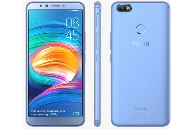 Tecno Camon X Mobile Phone Design