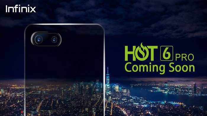 Price of Infinix Hot 6 Pro in Kenya