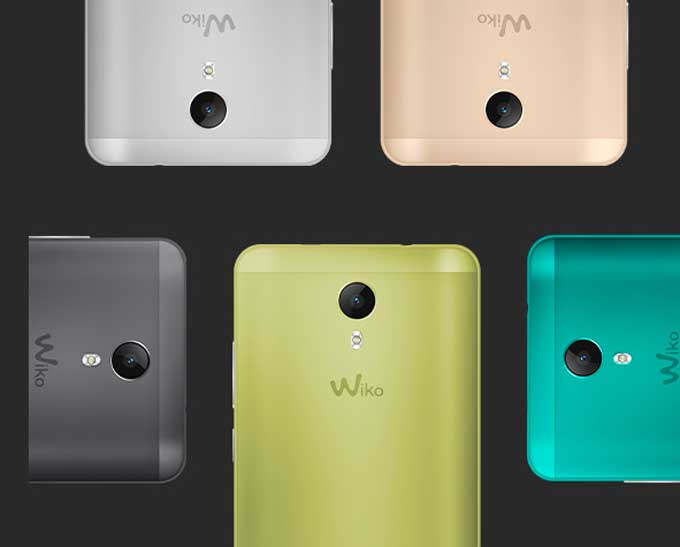 Wiko Jerry 2 Color Options