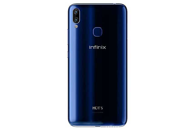 Back View of the Infinix Hot S3X Smartphone