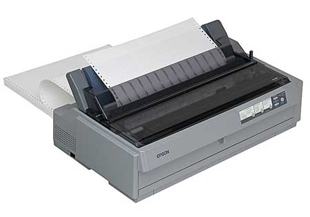 Epson-LQ-2190-Dot-Matrix-Printer-Grey
