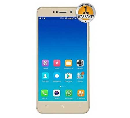 Gionee-X1-16GB-2GB-RAM-8MP-Camera,-(Dual-SIM),-Gold