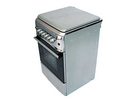 Bruhm-BGC-5040NX-4-Gas-Burner,Gas-Oven-,Stainless-Steel-Standing-Cooker