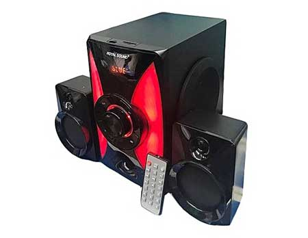 Royal-Sound-RS226R-21-HI-FI-SUBWOOFER-With-Bluetooth-Black-&-Red